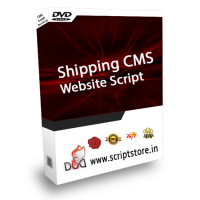 shipping cms website scipt